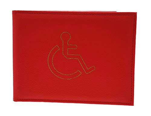 Hochwertig Behindertenausweis Halter - Verfügbar In Verschiedenen Farben - Rot, Keine Angaben