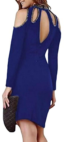 fempool-women-beauty-cold-shoulder-long-sleeve-backless-midi-dress-l-large-uk-16-18-blue