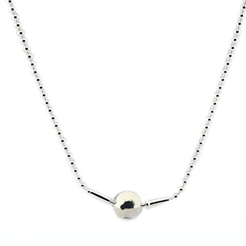 Preisvergleich Produktbild EMOSAN 2016 Herbst Europäische Style Essence Collection Perlen Halsketten 925 Sterling Silber passt für Essenzen charms DIY Making Schmuck