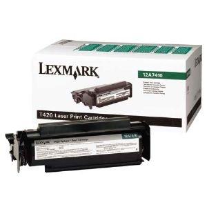 Unisys UDS 131 - Original Lexmark 0012A7410 Toner Schwarz - -