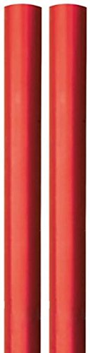 4m-roll-metallic-foil-effect-gift-wrapping-paper-2x2m-plain-red-any-occasion-christmas-valentine