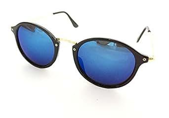 AKSHAJ™ Latest Fashion Vintage Style Round Purple Mercury Style Sunglasses Goggles Shades