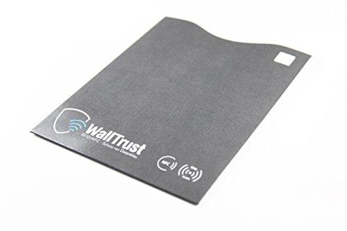 Set custodie protettive anti-RFID e NFC * con certificato TÜV * passaporti l bancomat contro accessi indesiderati e furti di dati l Set di 2 pz