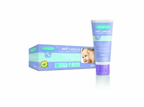 Lansinoh Lanolin Nippel Pflege Creme HPA-zertifiziert 10ml