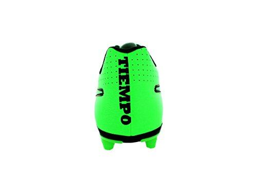 Nike tiempo rio iI fG chaussures de football pour homme Green Strike/Black-Black
