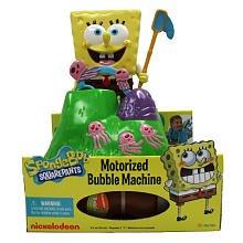 Motorized Bubble Machine - SpongeBob