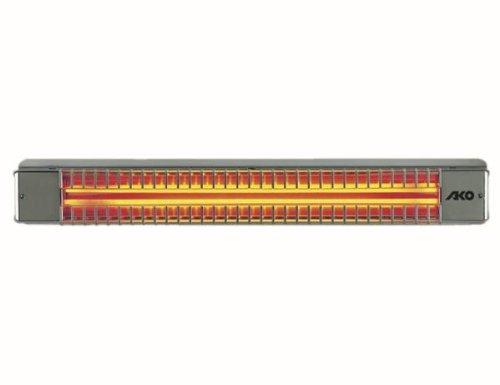 Preisvergleich Produktbild AKO Glen Dimplex Terrassenstrahler EDS UWS 75 RD/1E 1300W 72x10,5x10 Heizstrahler 4011652500219