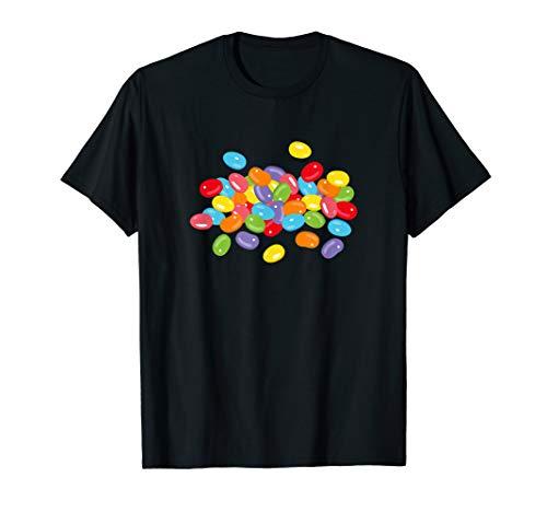 Jelly Beans Bunte Gelee Bonbons Süßigkeiten Design T-Shirt
