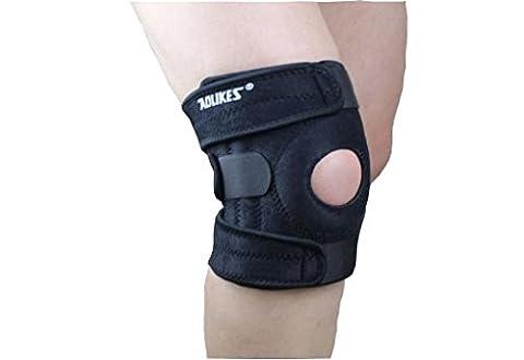 ACME Kniebandage Knieschoner atmungsaktiver Knieschützer mit Gelenkschienen für Damen und Herren,2er Set