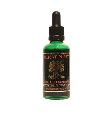 FULVIC ACID MINERALS 50ml (4 months Supply) Trace Minerals / Amino Acids / Detox by ANCIENT PURITY