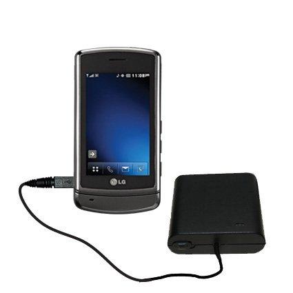 Advanced AA Akkupack als Ladezubehör kompatibel mit LG VX9700 Mit TipExchange Technologie