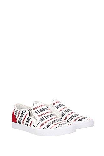2880276P29938010U Armani Emporio Pantoffeln Herren Stoff Weiß Weiß