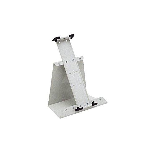 Tischständer A3 montiert grau leer aus Metall für 40 Tafeln
