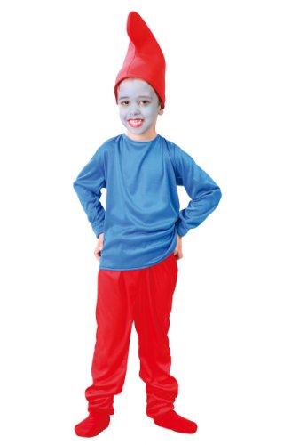 Disfraz Infantil 4-6 años ENANITO ROJO