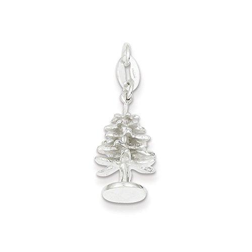 Charms et breloques 22,5 x 13,5 mm-JewelryWeb Argent Sterling charme de bain