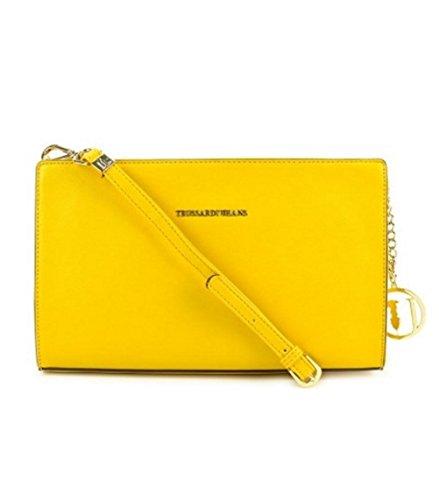 Trussardi 75b494xx53, Borsa a Mano Donna, 31x19x7 cm (W x H x L) Yellow