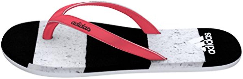 Adidas Eezay Striped Marble W, Chanclas para Mujer