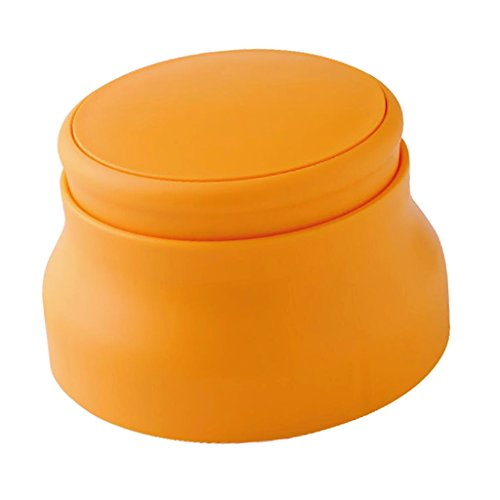 PETSOLA Bricolaje Plástico Naranja Molde De Sushi Fabricante De Onigiri Con Tapa Accesorios De Cocina