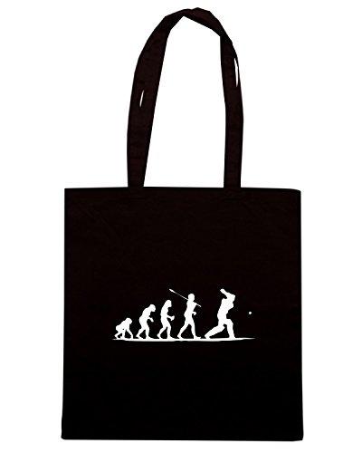 T-Shirtshock - Borsa Shopping OLDENG00454 cricket Nero