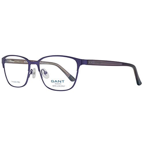 GANT Damen Brille Ga4038 54082 Brillengestelle, Violett, 54