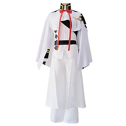 Seraph of The End Cosplay Kostüm Kleid Anime Kostüm Anzug Party Kostüm Für Erwachsene Vollständiger Satz,L (Vollständige Link Kostüm)