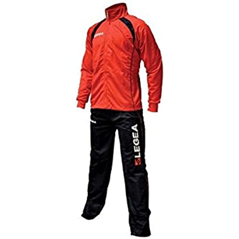LEGEA  - Chándal de fútbol para hombre, color rojo, talla M