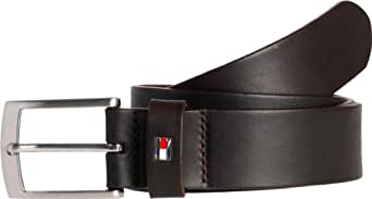 Tommy Hilfiger - Ceinture - Homme - Marron (066 Testa Di Moro-Eur) - FR : 92 (Taille fabricant : 90)