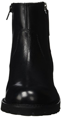 Unbekannt - Stiefelette, Stivali bassi con imbottitura leggera Donna Nero (Schwarz (000 BLACK))