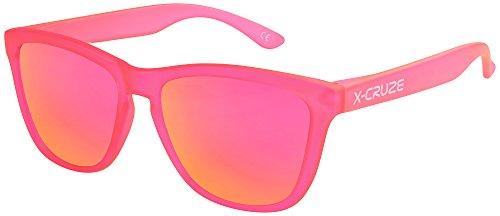 X-CRUZE® 9-059 Gafas de sol Nerd polarizadas estilo Retro Vintage Uni