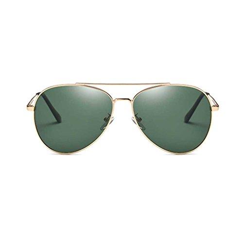 Minzhi Retro Sunblock Frauen-Sonnenbrille Art und Weise M?nner polarisierten Licht Sun-Glas-Steampunk Lady-Rahmen Eyewear