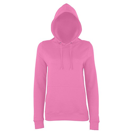 AWDis Just Hoods - Sweatshirt à capuche - Femme Orange pressée