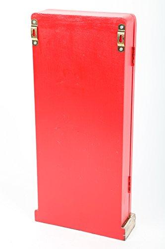 point-home Schlüsselkasten Schlüsselschrank Schlüsselbox Retro-Design Holz - 6