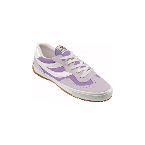Superga 2832 Nylu Unisex-Erwachsene Sneaker Pink-Violet-White