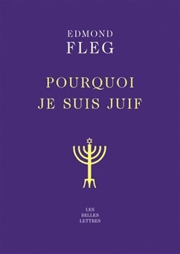 Pourquoi Je Suis Juif (Collection Bibliophane) par Edmond Fleg