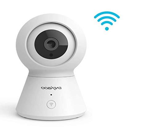 Cacagoo 1080P FHD WiFi-IP-Kamera für den Innenbereich mit Nachtsicht, Bewegungserkennung, 2-Wege-Audio-Sicherheits-Überwachung, Schwenk-/Neige-/Zoom-Monitor für Baby/ältere/Haustiere