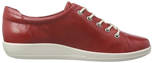 Ecco  ECCO SOFT 2.0, Derby femme Rot (CHILIRED 1466)