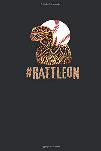 #RattleOn: Arizona Dbacks Baseball Fan Notebook | Small Blank Journal For A Dbacks Fan(120 Pages 6 x 9 )