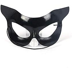Set de decoración de Halloween Halloween Maquillaje Partido Medio Rostro Vestido Negro hasta Props 1 Paquete Regalos para Niños en Halloween