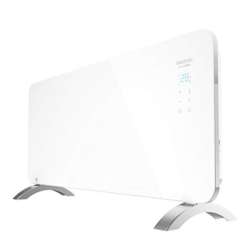 Cecotec Convector de Cristal Ready Warm 6750 Crystal Connection. Manejo por WiFi, Termostato Regulable...