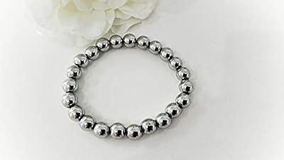 hematite bracelet, bracelet protection, bracelet pierres naturelles, bracelet mala, bracelet unisexe, bracelet reiki, cadeau noel pour lui, bracelet anti fatigue