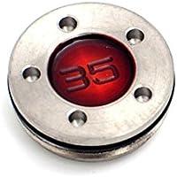 mamimamih 35g Golf Gewichte für TITLEIST Scotty Putter Farbe Rot (2Stück)