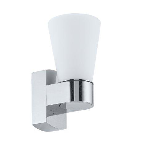 Eglo CAILIN Apto para uso en interior G9 33W Cromo iluminación de pared - Lámpara (Cepillado, 1 bombilla(s), 33 W, G9, IP44, Cromo)