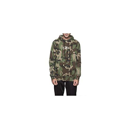 HUF Herren Ambush Pullover Hoodie FL00056, Camo, Größe S