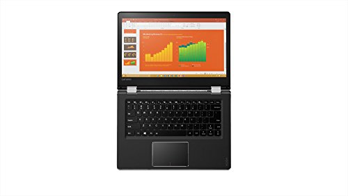 Lenovo Yoga 510-14IKB 14-inch Touchscreen Laptop (7th Gen Core i5-7200U/4GB/500GB/Windows 10 Home/Integrated Graphics), Black