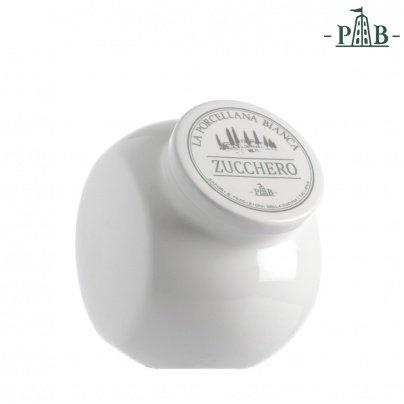 PORCELLANA Conserva Te Sucre récipient en céramique, Porcelaine, Multicolore, 0.1 x 0.1 x 0.1 cm