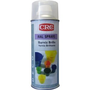 CRC - Barniz Brillante En Spray. Deco Ral Barniz Transparente Brillo 200
