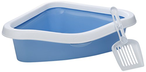 beeztees-sprint-corner-cat-litter-pan-14-cm-light-blue-white