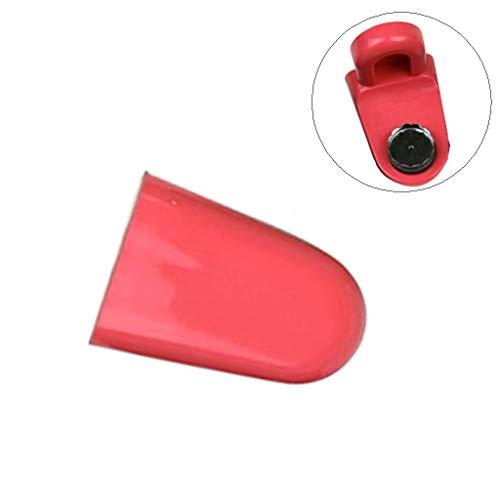 Yvelands Portasapone Magnetico per Evitare Che Il Dispenser Antiruggine(Rosa Caldo)