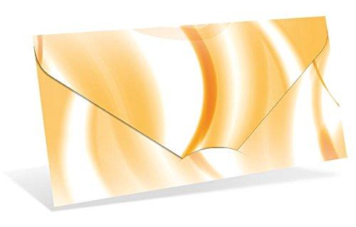 Gutscheinkarten (10 Stück) – Geschenkgutscheine für Tierbedarf, Tierpension, Tierärzte – DIN lang Faltkarte verschließbar, blanko Vordruck zum Eintragen der