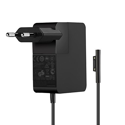 YOUNGE Netzteil-Ladegerät 24W 15V 1,6A Adapter für Microsoft Surface Pro 4 M3 (Core M) 1736 Tablet-Ladegerät -